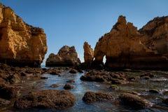 rocky wybrzeże Zdjęcie Stock