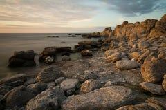 rocky wybrzeże Zdjęcie Royalty Free