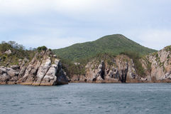 rocky wybrzeże Obrazy Royalty Free