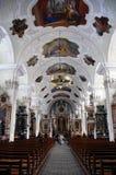 rococo Швейцария engelberg собора Стоковое Изображение RF