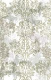 Rococo Baroque texture pattern Vector. Floral ornament decoration. Victorian engraved retro design. Vintage fabric decors. Luxury