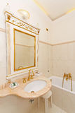 Rococo bathroom Royalty Free Stock Images