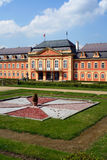 Rococo chateau. The rococo chateau with park in Dobris, Czech Republic Royalty Free Stock Photography