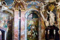 Rococo church interior, Munich Royalty Free Stock Photos