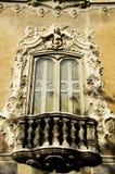 Rococo Fenster Lizenzfreies Stockbild