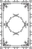 Rococo fine frame Stock Photos