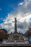 Rococo fountain of Saint George, Trier, Germany Stock Photography
