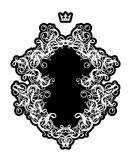 Rococo frame III Royalty Free Stock Image