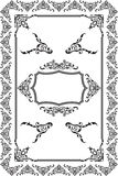 Rococo frame Royalty Free Stock Photography