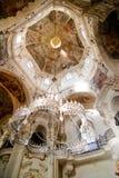 Rococo Leuchter stockfotos