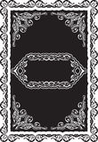 Rococo ornate border Royalty Free Stock Image