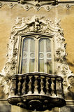 Rococo Window Royalty Free Stock Image