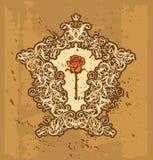 Rococos II de cadre photos stock