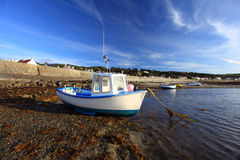 Rocquain海湾根西岛 免版税库存图片