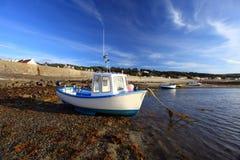 Rocquain zatoka Guernsey Obraz Royalty Free