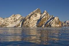 Rocs e gelo Imagens de Stock