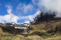 Rocs e neve in vulcano dell'altare di EL Immagine Stock