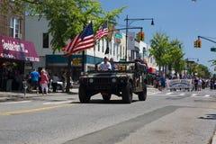 Roczna Ridgewood, Glendale Memorial Day parada/ obraz royalty free