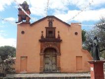 500 roczniaka meksykanina kościół obraz stock
