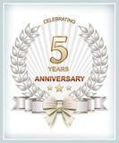 5 rocznica Fotografia Stock