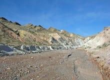 Rocznicy przesmyk, Calleville i Lovell, Myjemy blisko Jeziornego dwójniaka, Nevada Zdjęcie Stock