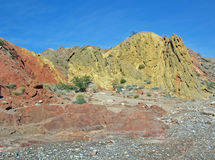 Rocznicy przesmyk, Calleville i Lovell, Myjemy blisko Jeziornego dwójniaka, Nevada Zdjęcia Stock