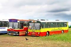 Roczników autobusy Obraz Royalty Free