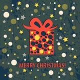 Roczników boże narodzenia i Szczęśliwy nowego roku wakacje Obraz Royalty Free