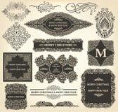 Roczników bożych narodzeń ornamenty ilustracji
