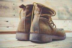 Roczników buty Fotografia Royalty Free