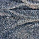Roczników cajgów tekstura. Fotografia Royalty Free