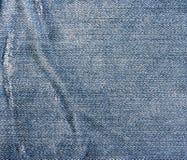 Roczników cajgów tekstura Zdjęcie Stock