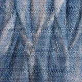 Roczników cajgów tekstura z scuffed. Obrazy Royalty Free