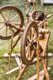 Roczników drewniani narzędzia Fotografia Stock