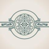Roczników elementów Dekoracyjnych zawijasów Kaligraficzny ornament Obrazy Royalty Free