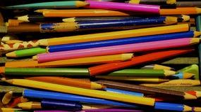 Roczników ołówki Zdjęcie Royalty Free