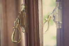 Roczników okno dźwignia obrazy royalty free