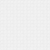 Roczników okregów kolor wyginający się wzór - bezszwowi półdupki Fotografia Stock
