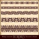 Roczników ornamenty i strony dekoracja, wyłączność na wywiad Zdjęcia Royalty Free