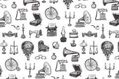 Roczników przedmiotów wzór Zdjęcie Royalty Free