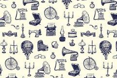 Roczników przedmiotów wzór Fotografia Royalty Free
