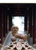 Roczników retro elementy i dekoracyjni ornamenty w Chińskim wietnamczyku projektują Zdjęcie Stock