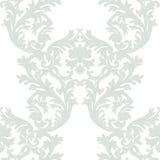 Roczników rokoko ornamentu Barokowy wzór Obraz Royalty Free