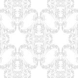 Roczników rokoko ornamentu Barokowy wzór Zdjęcia Stock