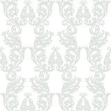Roczników rokoko ornamentu Barokowy wzór Zdjęcie Royalty Free