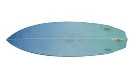 Roczników 80's Surfboard odizolowywający na bielu Zdjęcia Royalty Free
