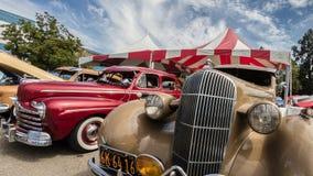 Roczników samochody obrazy royalty free