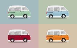 Roczników samochody dostawczy Obrazy Royalty Free