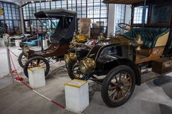 Roczników samochody od wyjątkowej kolekci Bratislav Petkov zdjęcie royalty free