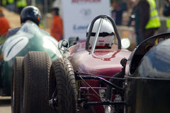 Roczników samochody wyścigowi Zdjęcie Stock